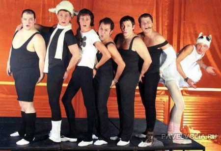 Comedy балет... и Воля! :)